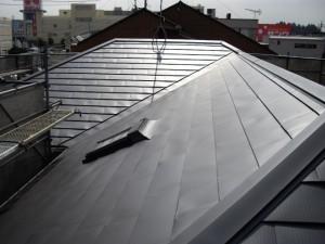 屋根アフター(トップライト周り)