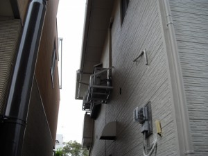 隣家境アフター(計器類、配管類もご心配なく)