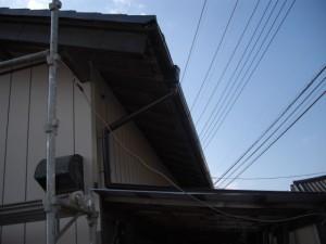 ガルバリウム鋼板 雨樋