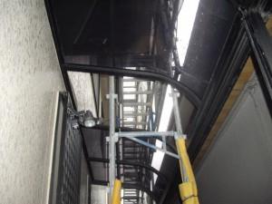 屋根の一時撤去保管