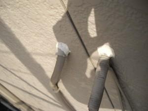 電線類のシーリング
