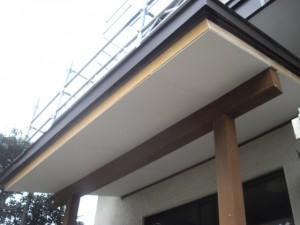 軒裏天井雨漏りリフォーム