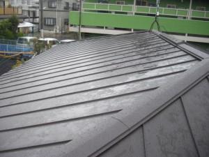 雨が降った後の屋根の状態