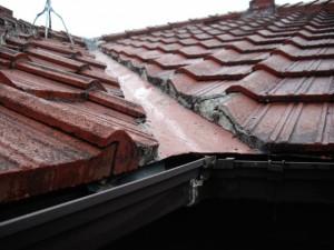 谷周り間違った雨漏り修理