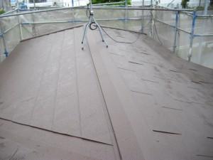 屋根葺き替え工事後