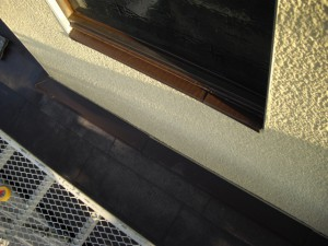 雨漏り修理、納まり修正