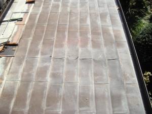 銅板屋根雨漏り修理
