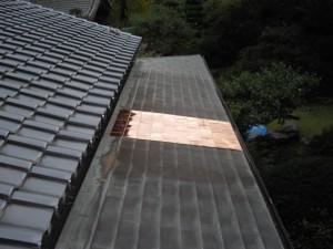 銅板葺き替え