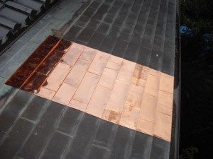 銅板葺き替え後