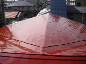 アフター屋根塗装