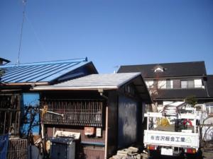 屋根リフォーム後
