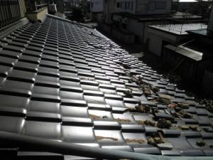 瓦屋根地震被災3