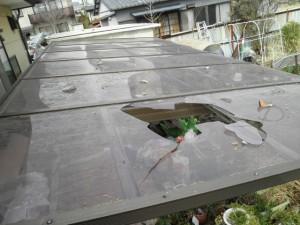 瓦屋根地震被災19