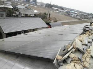 瓦屋根地震被災20
