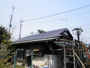 横葺き屋根アフター