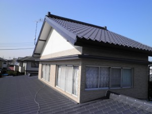 屋根アフター かわら455