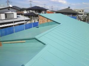 屋根の納まり