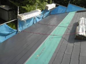 フッ素鋼板によるカバー工法
