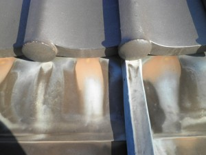 瓦と銅板の相性