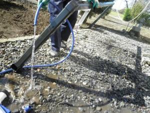雨樋の一時解体清掃