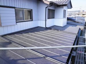 アフター軽量金属屋根へと葺き替え