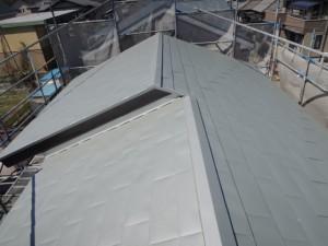 瓦屋根から金属屋根へ葺き替え