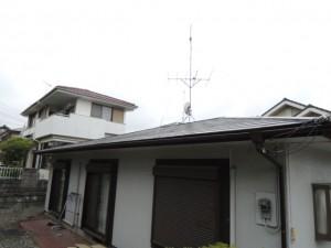 塗装が劣化したカラーベスト屋根
