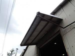 アフター。ガルバリウム鋼板屋根