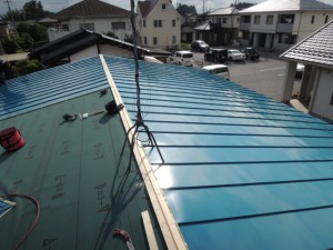 雨仕舞いのスペシャリストの屋根