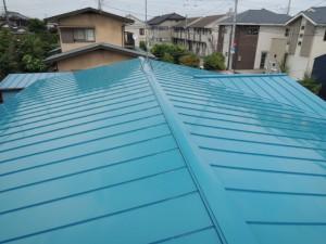 金属屋根へ葺き替えリフォーム