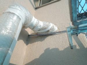 水道管断熱ビフォー