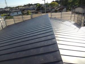立平葺き屋根 技