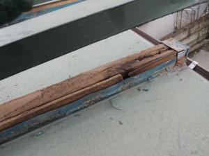 瓦棒の腐朽