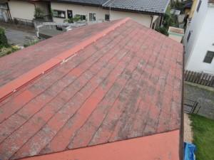 コロニアル屋根の劣化・雨漏り
