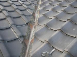 銅板谷、瓦、雨漏り