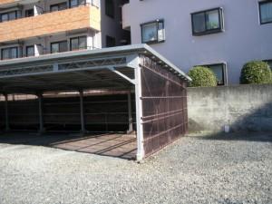 アフター、ガルバ屋根、ポリカ外壁