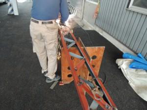 鉄骨梁の製作