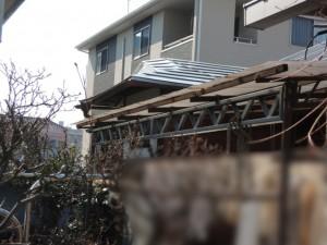 屋根下地の補強