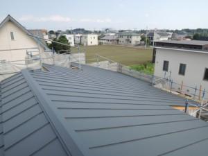 屋根葺き終了