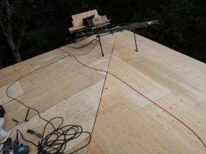 屋根下地の張替え