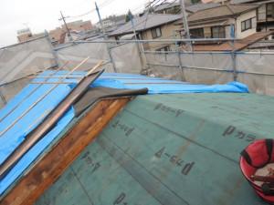 瓦屋根から金属屋根へ『耐震リフォーム』
