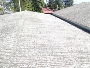 ビフォーアフター『工場波板石綿スレート屋根の改修』