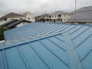 ビフォーアフター『トタン瓦棒屋根からガルバリウム縦平屋根へ』