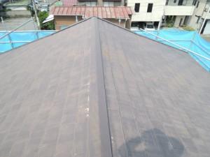 ビフォーアフター『カラーベスト屋根カバー葺き替え工事』『塩ビ鋼板製雨樋の架け替え工事』