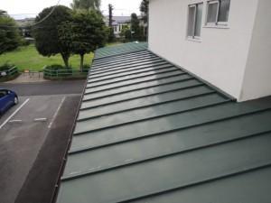 部分葺き替えと瓦棒葺き屋根