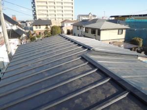 屋根葺き替え工事完了