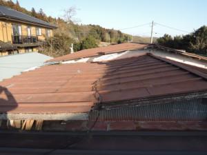 ビフォー瓦棒屋根