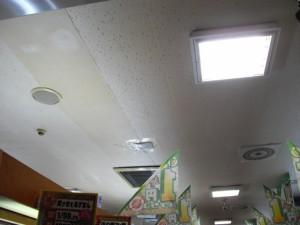 雨漏り調査修理(栃木県佐野市パチンコ店様メンテナンス)