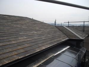 『フッ素鋼板』屋根リフォーム(さくら市S様邸工事状況4/19)