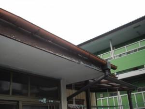 破風板のガルバリウム鋼板包み(リフォーム)